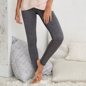 Aerie High Waisted Grey Leggings